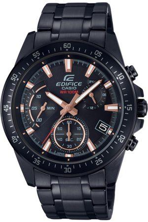Casio Edifice Men Black Dial Chronograph Watch EFV-540DC-1BVUDF - EX415