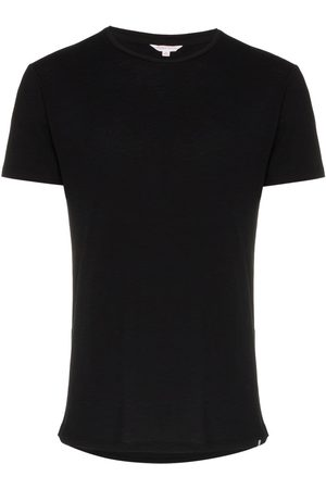 Orlebar Brown Men Short Sleeve - Short sleeved cotton t-shirt