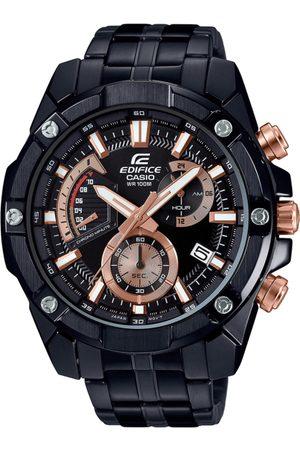 Casio Edifice Men Black Analogue watch EX428 EFR-559DC-1AVUDF