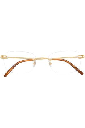 CARTIER EYEWEAR Frameless square glasses