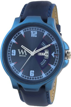 WM Men Blue Analogue Watch DD-080zz