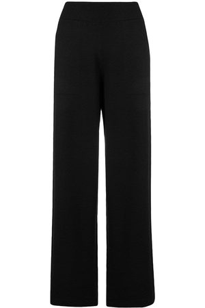 Barrie Ribbed waistband trousers