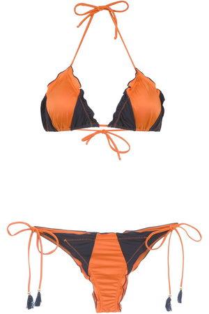 Brigitte Panelled bikini set
