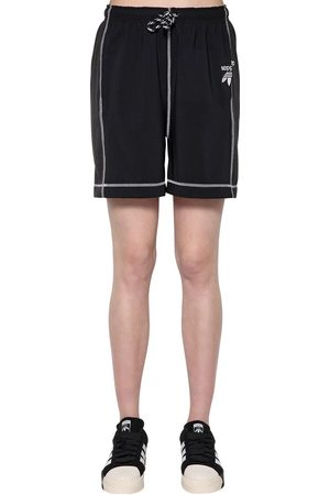 adidas Tech Satin & Cotton Shorts
