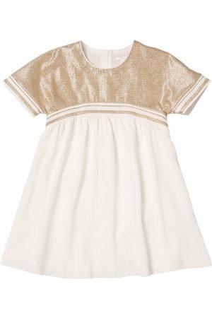 Chloé Girls Dresses - Lurex Viscose Crepe Party Dress