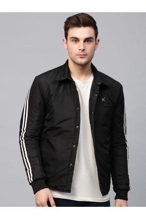 HRX Men Black Solid Sporty Jacket
