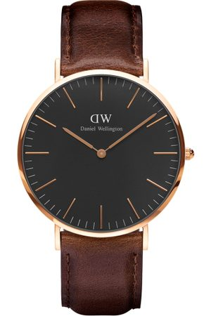 Daniel Wellington Men Watches - Men & Coffee Brown Analogue Watch DW00100125