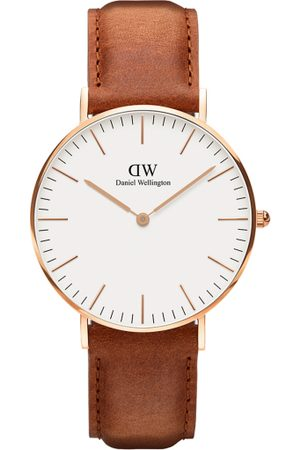 Daniel Wellington Classic Durham Men Brown & White Analogue Watch DW00100109