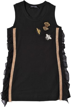 JAKIOO Bee Patches Cotton Jersey Tank Top
