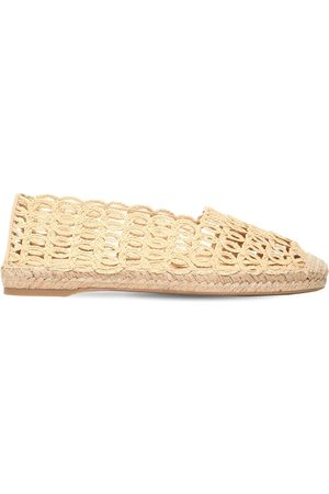 Charlotte Olympia Women Casual Shoes - 10mm Woven Raffia Espadrilles