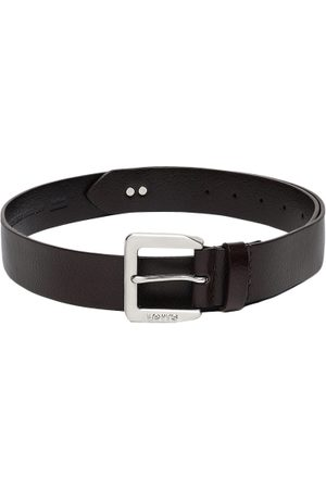 Levi's Men Brown Solid Belt