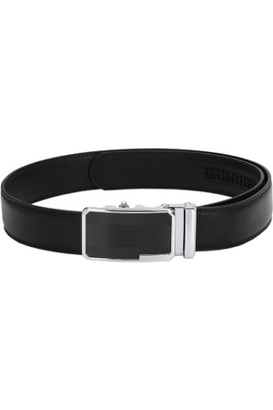 Pacific Men Leather Solid Belt