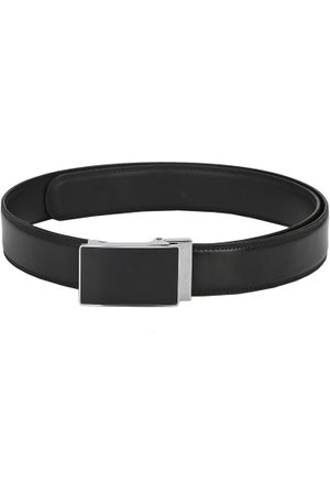 Pacific Men Genuine Leather Solid Belt