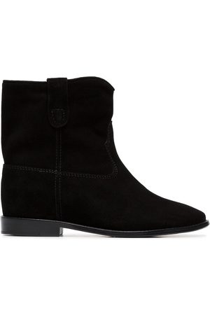 Isabel Marant Crisi flat suede ankle boots