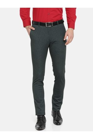 Ralph Lauren Men Super Slim Fit Solid Formal Trousers