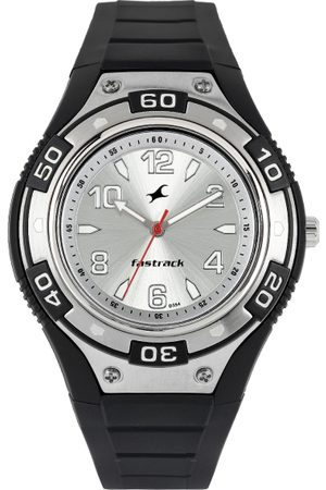 Fastrack Men Watches - Men Silver-Toned Dial Watch N9333PP01