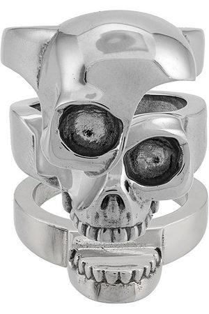 Alexander McQueen Men Rings - Divided skull ring