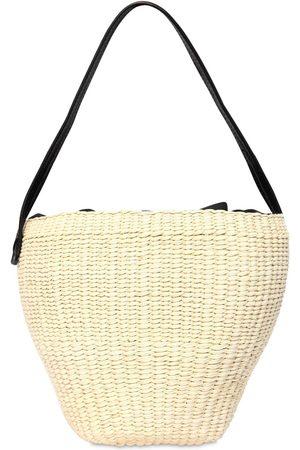 SENSI STUDIO Medium Straw Shoulder Bag