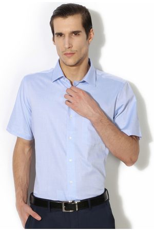 Van Heusen Men Short Sleeve - Men Slim Fit Formal Shirt
