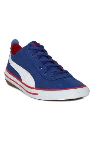 Puma Unisex Kids Blue Sneakers