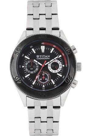 Titan Octane Men Chronograph Dial Watch NF9324KM01MA