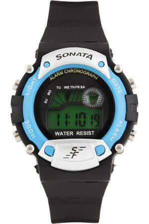 Sonata Men Digital Watch NG7982PP04J