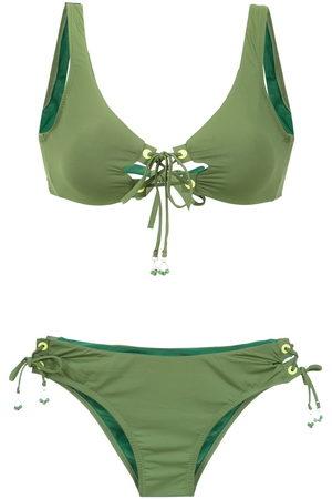 AMIR SLAMA Lace up bikini