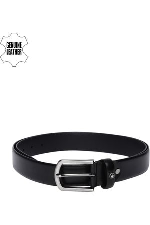 adidas Men Black Solid Casual Leather Belt