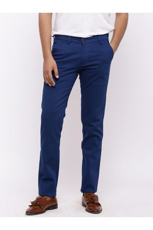 Nation Polo Club Men Skinny Fit Solid Chinos