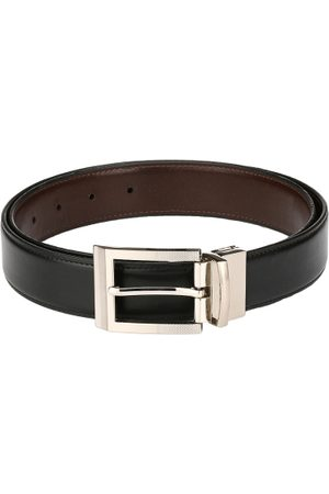 Pacific Men Brown & Black Reversible Belt