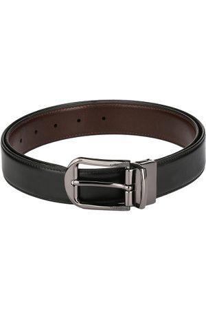 Pacific Men Brown & Black Reversible Belt