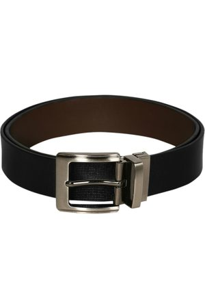 Scharf Men Brown & Black Leather Reversible Belt