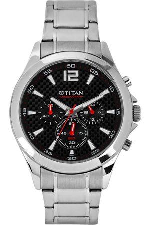 Titan Men Black Dial Watch NE9323SM06J
