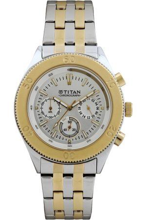 Titan Octane Men Silver Analogue watch NL9324BM01