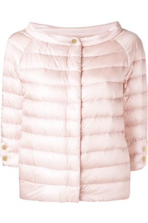 HERNO Snap button padded jacket