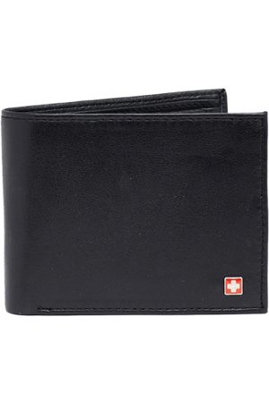 Swiss Military Men Solid Two Fold Wallet