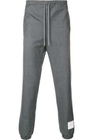 Thom Browne Elastic Hem Wool Track Trouser
