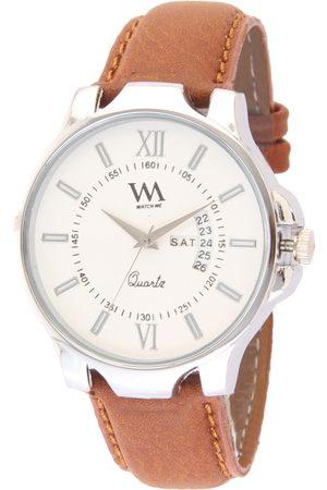 WM Men White Analogue Watch AWC-018rp