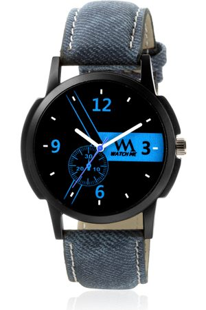 WM Men Blue Analogue Watch