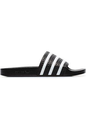 adidas And white Adilette slides