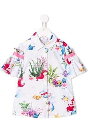 MONNALISA Little Mermaid shortsleeved shirt