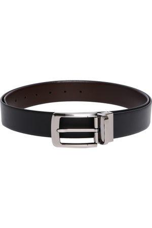 Tommy Hilfiger Men Belts - Men & Brown Solid Reversible Belt