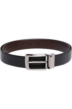 Tommy Hilfiger Men & Brown Reversible Solid Belt