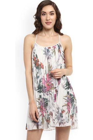 Kazo Women Printed A-Line Dress