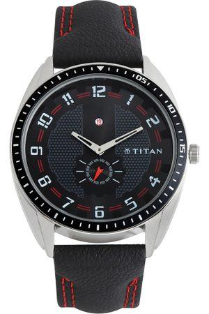 Titan Men Black Dial Watch NE1582KL02
