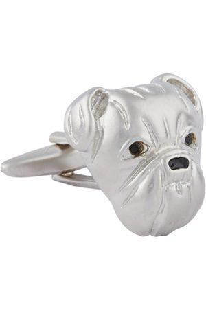shaze Silver-Toned Quirky Cufflinks