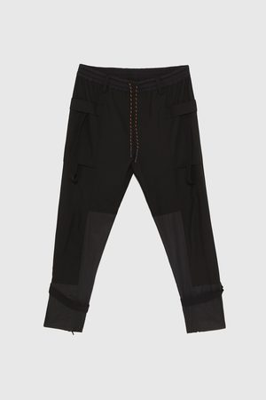 Zara CARGO TROUSERS WITH TAPING