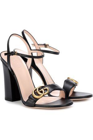 Gucci Sandals - Embellished leather sandals