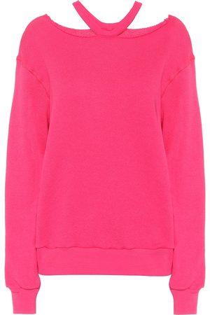 UNRAVEL Cotton and cashmere sweatshirt