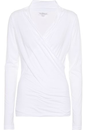 Velvet Meri stretch-cotton jersey top